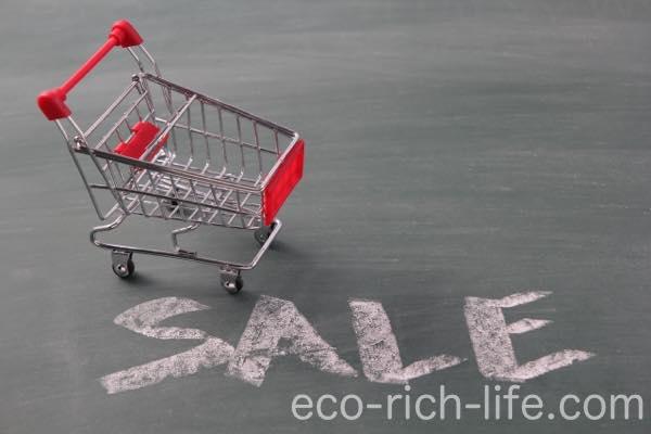 節約の方法、買い物編