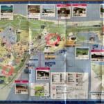海の中道海浜公園とマリンワールドの駐車場の説明の図