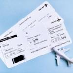 航空券のチケット