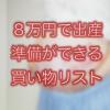 8万円で出産準備リスト・妊娠中期編